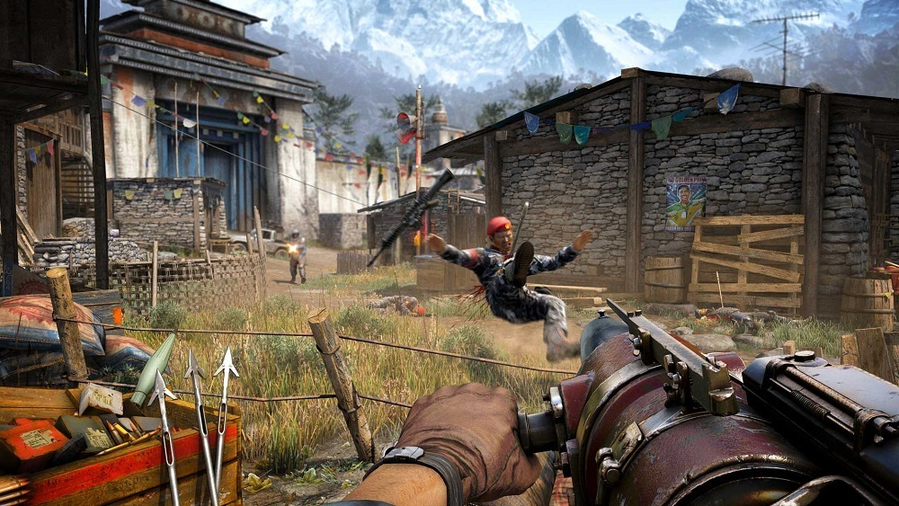 Wallpaper ID : 548236. Компьютерная игра Far Cry 4 Cry Wallpaper Backgroun