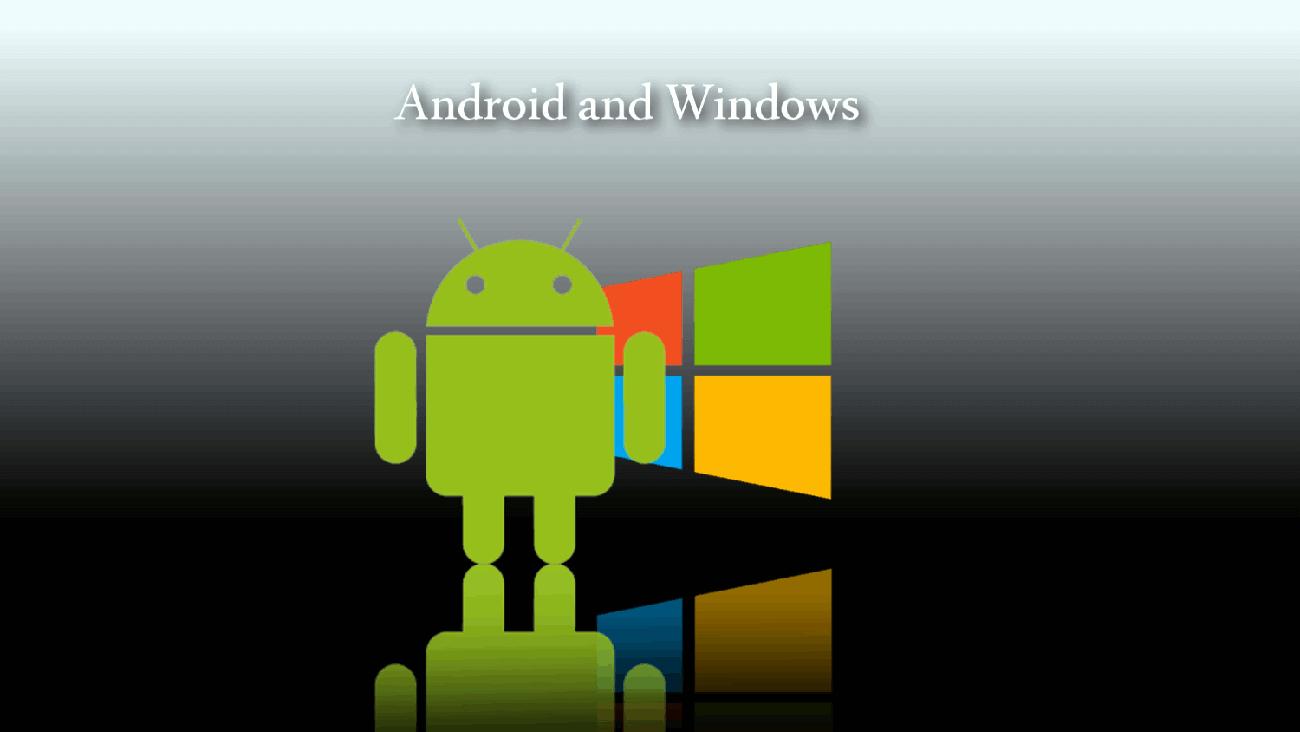 Связать андроид и виндовс